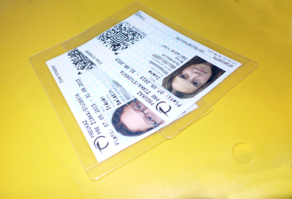 kartičky pro bezplatnou přepravu